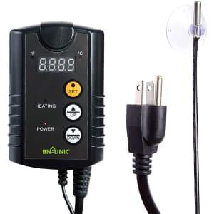 BN-LINK Digital Heat Mat Thermostat Controller for $19