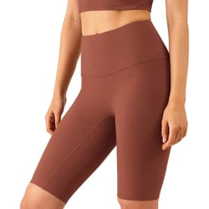 Altiland Women's High Waisted Athletic Shorts for $9