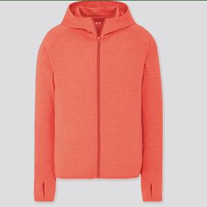 Uniqlo Men's Dry-Ex UV Protection Full-Zip Hoodie for $20