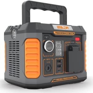 Baldr 200W Portable Power Station for $125