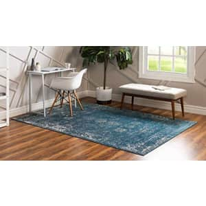 Unique Loom Sofia Collection Area Traditional Vintage Rug, French Inspired Perfect for All Home for $115