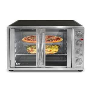 Maxi-Matic Elite Gourmet ETO-4510M Double French Door Countertop Convection Toaster Oven, Bake for $125