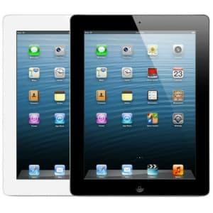 "4th-Gen. Apple iPad 9.7"" 16GB Tablet for $100"