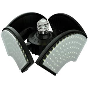 Coomoors 120W LED Garage Light for $15