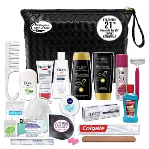 Convenvience Kits Women's Premium 21-Piece TSA-Compatible Travel Essentials Kit. for $16