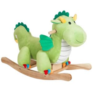 Happy Trails Dragon Plush Rocker for $59