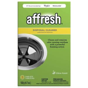 Affresh Garbage Disposal Cleaner 3-Pack for $2.56 via Sub & Save