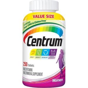 Centrum Women's Multivitamin 250-Count for $14 via Sub & Save