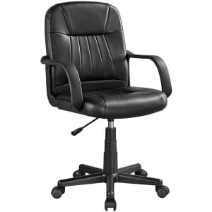 SmileMart Executive Office Chair for $67