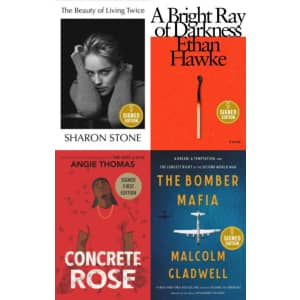 Signed Books at Barnes & Noble: 25% off