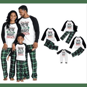 Matching Holiday Pajama Sets at MUSESLOVE: 55% off