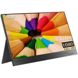 "Virzen 15.6"" 1080p Portable IPS Monitor for $180"