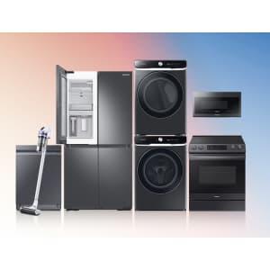 Samsung Appliances: Buy 3 select models, get 10% off