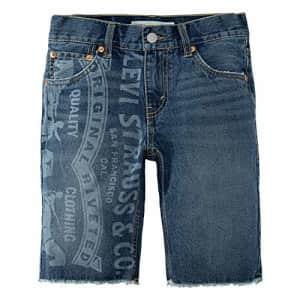 Levi's Boys' 511 Slim Fit Denim Shorts, Guernica, 18 for $25
