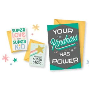 Hallmark Little World Changers Greeting Card 3-Pack for free