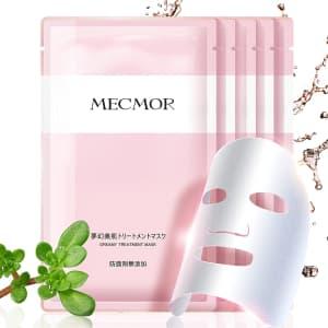 Mecmor Vitamin C & Hyaluronic Acid Sheet Mask for $10