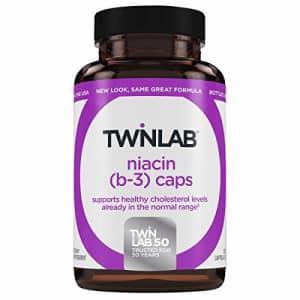 Niacin (B-3) 1000mg Twinlab, Inc 100 Caps for $30