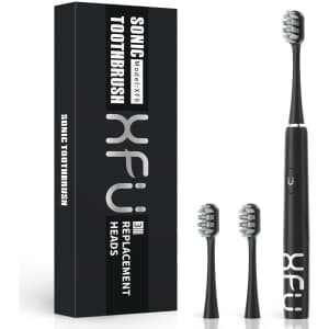 XFU Sonic Electric Toothbrush for $9