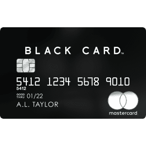 Luxury Card™ MasterCard® Black Card™: 2% Value for Airfare Redemptions