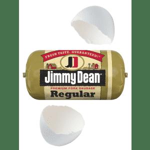 Jimmy Dean 16-oz. Breakfast Sausage: free w/ Amazon Fresh + egg