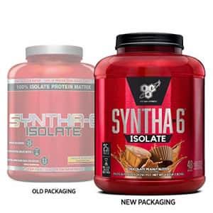 BSN SYNTHA-6 Isolate Protein Powder, Whey Protein Isolate, Milk Protein Isolate, Flavor: Chocolate for $149