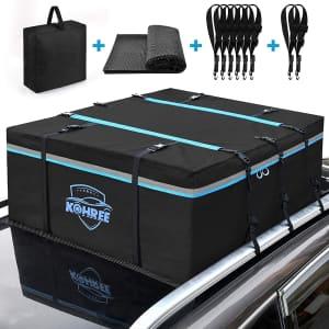 Kohree Car Roof Bag for $62
