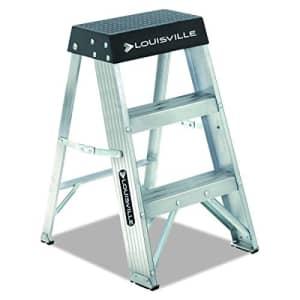 Louisville Ladder AS3002 6966014, 2 Feet, Black for $58