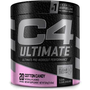 Cellucor C4 Ultimate Pre Workout Powder 20-Serving Tub for $29