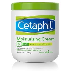Cetaphil 20-oz. Moisturizing Cream for $11 via Sub & Save