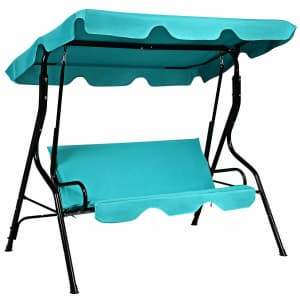 Costway 3-Seat Canopy Swing for $115
