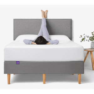 Purple Sale: free bedding with mattress purchase
