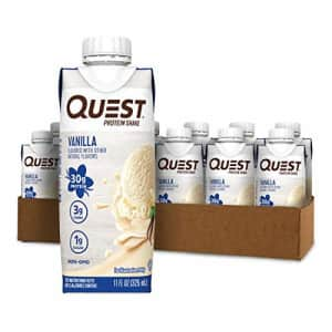 Quest Nutrition Vanilla Protein Shake, High Protein, Low Carb, Gluten Free, Keto Friendly, 12Count for $20