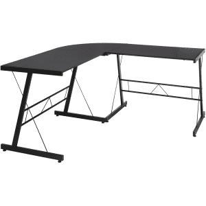 """OFM Essentials 60"""" L-Shaped Metal Desk for $105"""