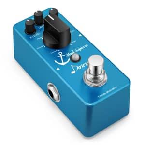 Donner Mod Square 7-Mode Digital Guitar Effect Pedal for $34