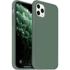 Ouxul Silicone Case for iPhone 11 Pro Max for $2
