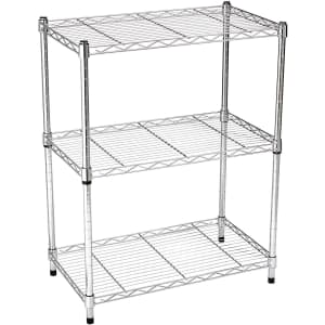 AmazonBasics 3-Shelf Shelving Unit for $40