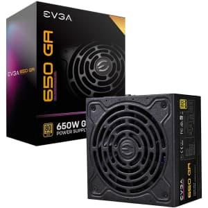 EVGA Supernova 650 GA Internal Modular Power Supply for $86