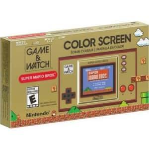 Nintendo Game & Watch: Super Mario Bros Handheld for $50