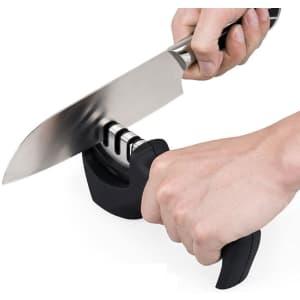 Ephiioniy 4-in-1 Knife Sharpener for $9