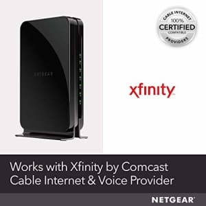 NETGEAR Cable Modem with Voice CM500V - For Xfinity by Comcast Internet & Voice | Supports Cable for $79