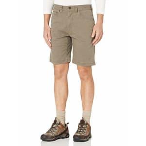 prAna Living Men's Bronson 9-Inch Inseam Shorts, Mud, 30 for $49