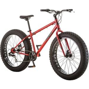 Mongoose Hitch Mens All-Terrain Fat Tire Mountain Bike, 7 Speed Drivetrain, 26-inch Wheels, 4-Inch for $580