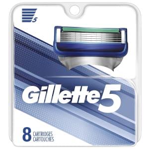 Gillette 5 Men's Razor Blade Refill 8-Pack for $16