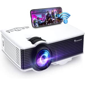 Bonsaii Outdoor WiFi Movie Projector for $90