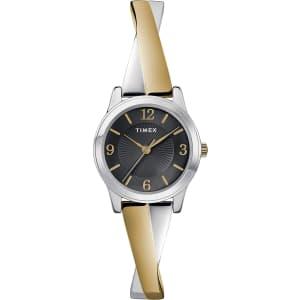 Timex Women's Stretch Bangle Crisscross Watch for $45