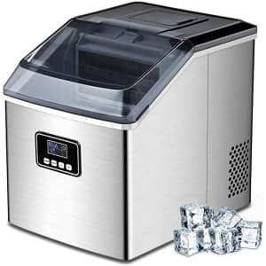 Free Village Self-Cleaning Countertop Ice Machine for $210