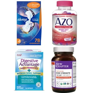 Health Items at Amazon: Buy 1, get 50% off 2nd