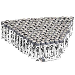 AmazonBasics AAA Industrial Alkaline Batteries 200-Pack for $44