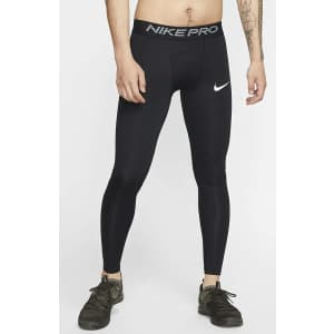 Nike Men's Pro Tights for $23