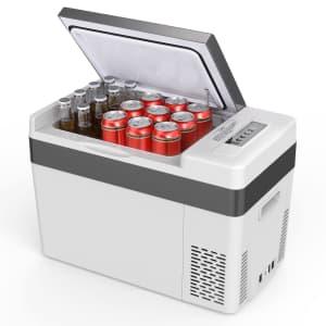 BougeRV 30-Quart Car Refrigerator for $223